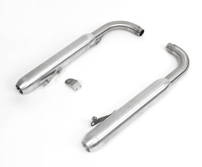 Exhaust silencers for Triumph Bobber
