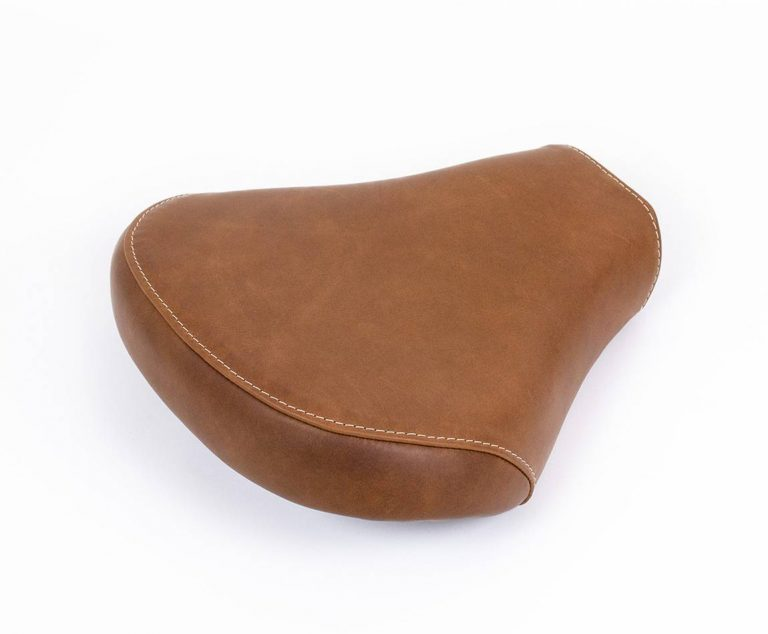 Leather seat for Royal Enfield