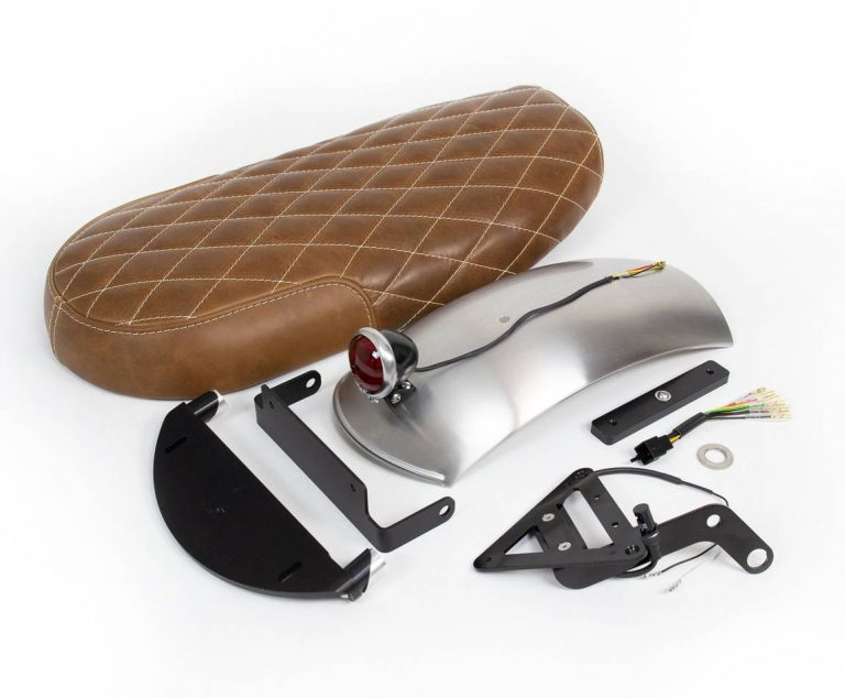 Leather seat kit for Triumph T120
