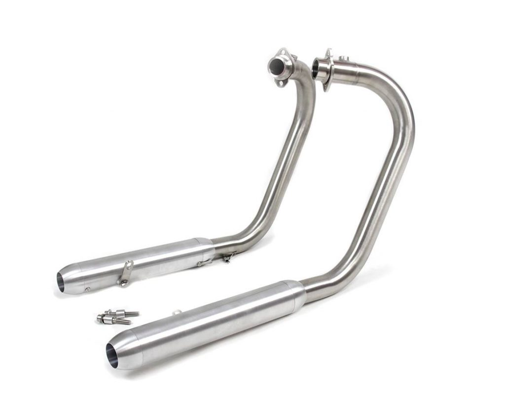 Bobber exhaust for Royal Enfield 650 Interceptor / Continental GT